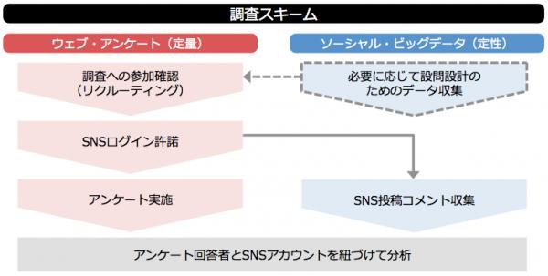 Social+Survey調査スキーム図
